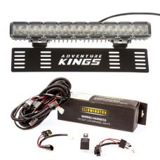 "15"" Numberplate LED Light Bar + Bar Wiring Harness"
