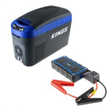 Adventure Kings 15L Centre Console Fridge/Freezer + 1000A Lithium Jump Starter