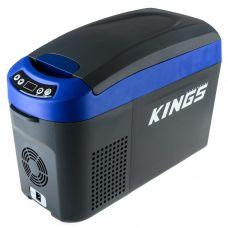 Kings 15L 12v Centre Console Fridge/Freezer | 12v/24v/240v | SECOP Compressor | -18c to +10c