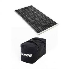 Adventure Kings 160w Fixed Solar Panel + 40L Duffle Bag
