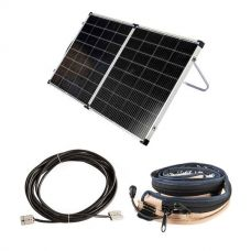 Kings Premium 160w Solar Panel with MPPT Regulator + 10m Lead For Solar Panel Extension + Illuminator MAX LED Strip Light