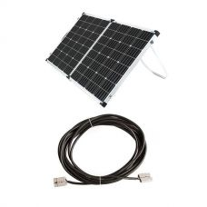 Adventure Kings 160w Solar Panel + 10m Lead For Solar Panel Extension
