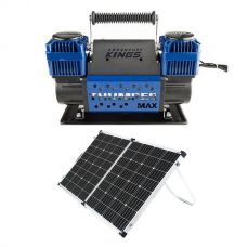 Thumper Max Dual Air Compressor + Adventure Kings 160w Solar Panel