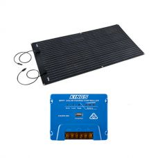Adventure Kings 160W Semi-Flexible Solar Panel + Adventure Kings MPPT Regulator