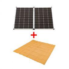 Adventure Kings 160w Solar Panel + Adventure Kings - Mesh Flooring 3m x 3m