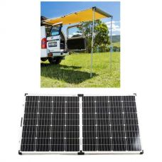 Adventure Kings Rear Awning - 1.4 x 2m + Adventure Kings 160w Solar Panel