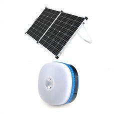 Adventure Kings 160w Solar Panel + Mini Lantern