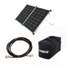 Adventure Kings 160w Solar Panel + 10m Lead For Solar Panel Extension + 40L Duffle Bag