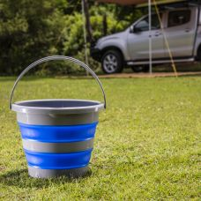 Kings Collapsible 10L Bucket   Compact   Durable   Versatile   Long Lasting