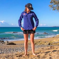 Ladies Outdoor/Fishing Shirt | Lightweight & Breathable | Sizes XS–3XL