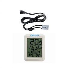 Adventure Kings Wireless Fridge Thermometer + Kings 1.8m 12v Fridge Cable