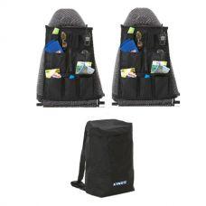 Adventure Kings Dirty Gear Bag + 2x Adventure Kings Car Seat Organisers