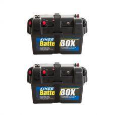 2x Adventure Kings Battery Box
