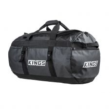 Kings 80L Extra-Large PVC Duffle Bag | Water Resistant | Heavy Duty | 600D Polyester