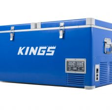 Kings 90L Camping Fridge Freezer | Dual Zone | Secop Compressor | 150 Can Capacity | 12V/24V/240V