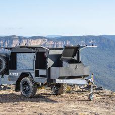 Adventure Kings MT1 Camper Trailer (Base - Trailer, Front Box, Awning Brackets)