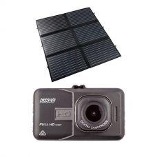 Adventure Kings 200W Portable Solar Blanket + Dash Camera