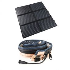 Adventure Kings 200W Portable Solar Blanket + Illuminator MAX LED Strip Light