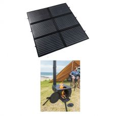 Adventure Kings 200W Portable Solar Blanket + Camp Oven/Stove
