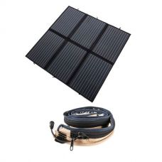 Adventure Kings 200W Solar Blanket with MPPT + LED Strip Light