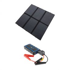 Adventure Kings 200W Solar Blanket with MPPT + 1000A Lithium Jump Starter