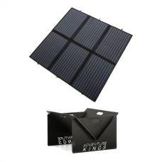 Adventure Kings 200W Solar Blanket with MPPT + Kings Portable Steel Fire Pit