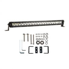 "Kings 20"" LETHAL MKIII Slim Line LED Light Bar + Sliding Brackets for Slim Line Light Bars (Pair)"