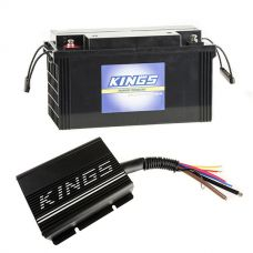 Adventure Kings 20AMP DC-DC Charger + 138Ah AGM Deep-Cycle Battery