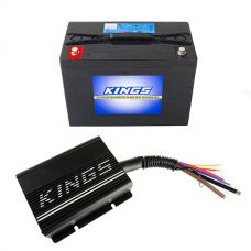 Adventure Kings 20AMP DC-DC Charger + AGM Deep Cycle Battery 98AH