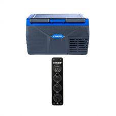 Kings 20L Fridge / Freezer + 12V Accessory Panel