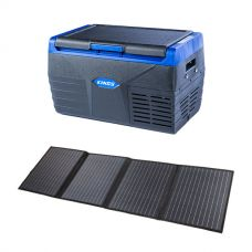 Kings 20L Fridge / Freezer + Adventure Kings 120W Solar Blanket with MPPT Regulator