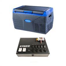 Kings 20L Fridge / Freezer + 12V Control Box