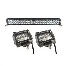 "Adventure Kings 24"" Laser Light Bar + 4"" LED Light Bar"