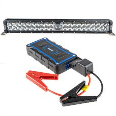 "Adventure Kings 24"" Laser Light Bar + 1000A Lithium Jump Starter"