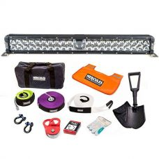 "Adventure Kings 24"" Laser Light Bar + Complete Recovery Kit"