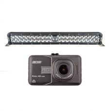 "Adventure Kings 24"" Laser Light Bar + Dash Camera"
