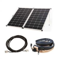 Kings Premium 250w Solar Panel with MPPT Regulator + 10m Lead with Solar Panel Extension + Illuminator MAX LED Strip Light