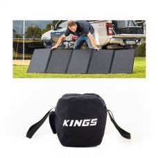 Adventure Kings 250W Solar Blanket +  40L Duffle Bag