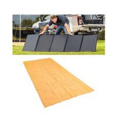 Adventure Kings 250W Solar Blanket + Camping Mesh Flooring 6m x 3m