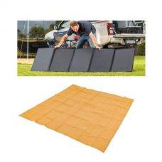 Adventure Kings 250W Solar Blanket + Mesh Flooring 3x3m