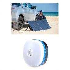 Adventure Kings 250W Solar Blanket with MPPT Regulator + Mini Lantern