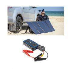 Adventure Kings 250W Solar Blanket with MPPT Regulator + 1000A Lithium Jump Starter