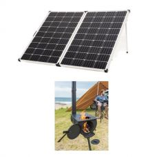 Adventure Kings 250w Solar Panel + Camp Oven/Stove