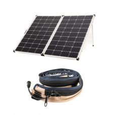 Adventure Kings 250w Solar Panel + LED Strip Light
