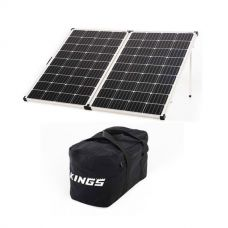 Kings Premium 250w Solar Panel with MPPT Regulator +  40L Duffle Bag