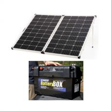 Kings Premium 250w Solar Panel with MPPT Regulator + Maxi Battery Box