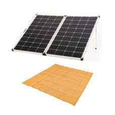 Kings Premium 250w Solar Panel with MPPT Regulator + Mesh Flooring 3m x 3m