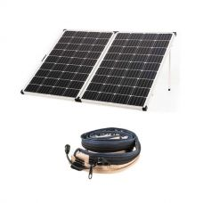 Kings Premium 250w Solar Panel with MPPT Regulator + LED Strip Light
