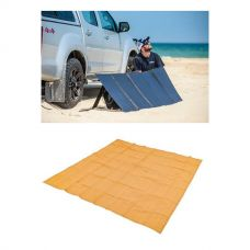 Adventure Kings 250W Solar Blanket with MPPT Regulator + Mesh Flooring 3m x 3m