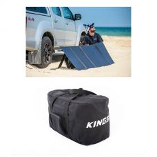 Adventure Kings 250W Solar Blanket with MPPT Regulator + Heavy-Duty Duffle Bag